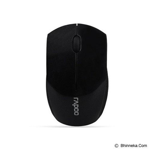 RAPOO Wireless Super Mini Mouse [3360] - Black - Mouse Basic